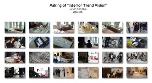 "Making of ""Interior Trend Vision"" (photo gallery)"